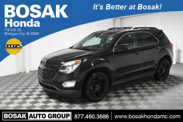 Used Black Black 2017 Chevrolet Equinox LT 4D Sport Utility 2GNFLFEK7H6272232 C3749P 2.4L 4-Cylinder SIDI DOHC VVT 6-Speed Automatic with Overdrive SUVs Heated Seats; Navigation System; Premium Audio; Sunroof / Moonroof; Power Seats; Satellite Radio Ready; Technology Package