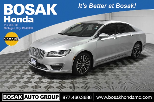 Used Silver Silver 2017 Lincoln MKZ Select 4D Sedan 3LN6L5C99HR645309 C3781P 2.0L GTDi 6-Speed Automatic with Select-Shift Cars Heated Seats; Sunroof / Moonroof; Memory Seats; Parking Sensors / Assist; Power Seats; Xenon Headlights