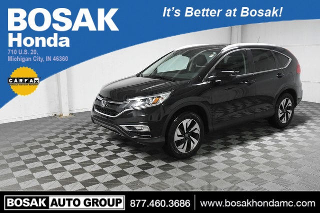 Used 2016 Honda CR-V Touring 4D Sport Utility 5J6RM4H99GL090547 C3780P 2.4L I4 DOHC 16V i-VTEC CVT SUVs Heated Seats; Leather Seats; Navigation System; Sunroof / Moonroof; Fog Lights; Memory Seats; Power Seats; Hands-Free Liftgate
